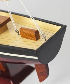 Sailboat wooden model