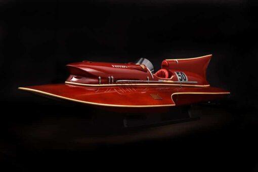 modellino motoscafo Ferrari Hydroplane