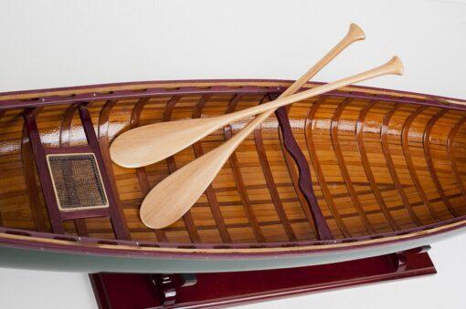 - Modellino - Canoa in legno