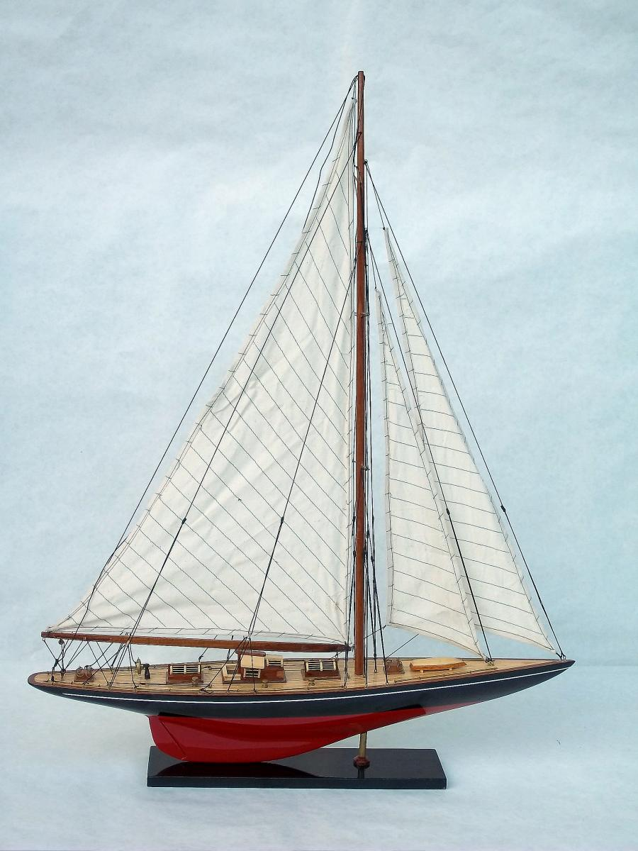 Endeavour racing yacht...