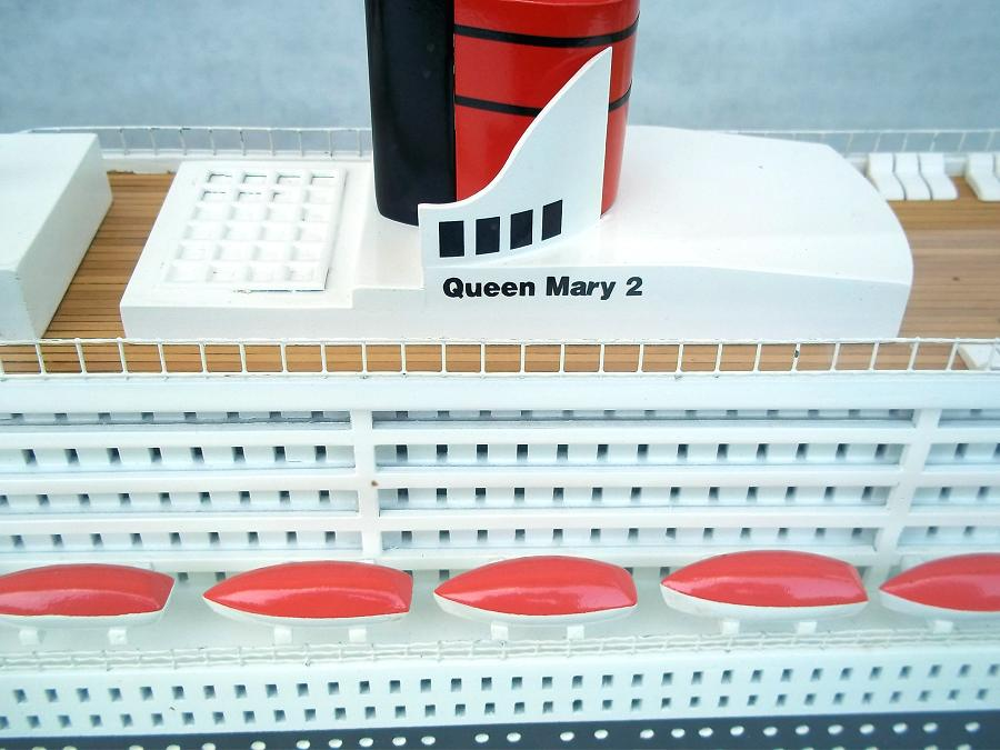 modellismo Queen Mary 2