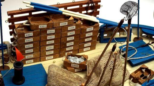 modellini navi pescherecci