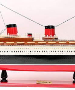 modellino nave Normandia