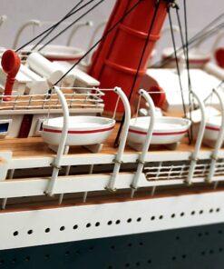 modellino nave transatlantico
