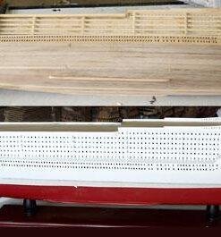 scafo in legno