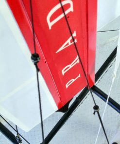 Luna Rossa wooden model