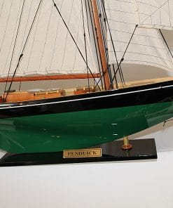 America's Cup model ships