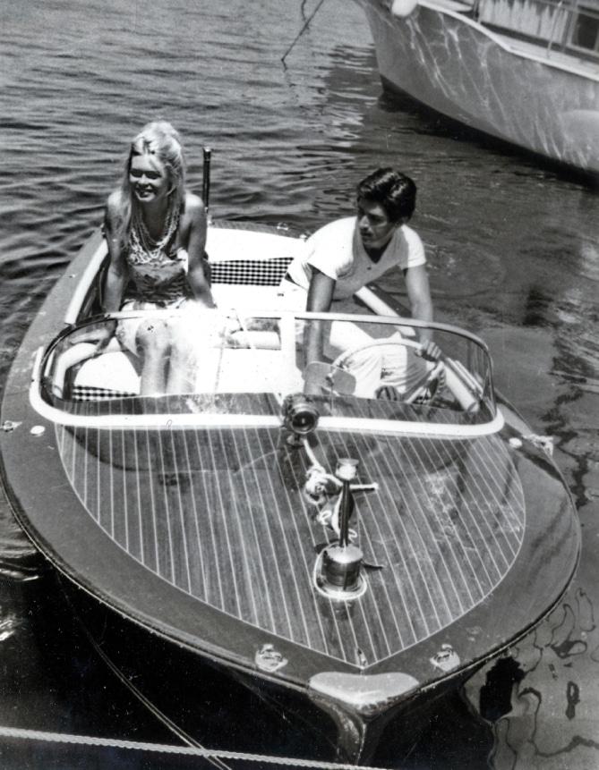 Motoscafi Riva nella storia del cinema - Brigitte Bardot