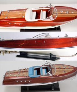 wooden speed boats italian models