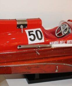 Modellino Motoscafo Ferrari